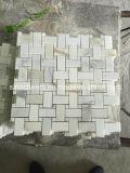 Het Chinese Mozaïek van Calacatta van de Levering van de Fabriek Gouden Marmeren met Verschillende Mooie Ontwerpen voor de Decoratie van de Muur van de Vloer