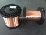 Alumínio folheado de cobre do CCAM do CCA/Cu desencapado do cobre condutor do Al