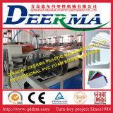 Chaîne de production de panneau de mousse de croûte de PVC de WPC/extrudeuse