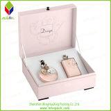 高い等級のピンクのペーパーパッキング香水ボックス
