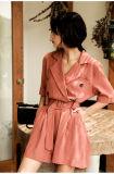 Soem-Form-reizvolle lange Hülse 2017 weg vom Schulter-Kleid für Frauen