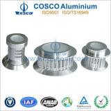Extrusão de alumínio para a iluminação do diodo emissor de luz com ISO9001&Ts16949 Certificated