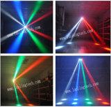 RGBW 이동하는 맨 위 소형 거미 LED 빛