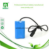 18650 Li-Ion Battery 8.4V 2200mAh für Power Bank, Remote Control Cars, Two-Way-Radio