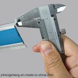 Antislip Gebogen Nosing van de Trede van het Aluminium van het Loopvlak van de Bevloering
