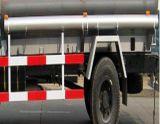 차량에 9.5 톤 연료를 공급하기