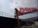 8mの高さのタワークレーンの砂鉱および販売の19mアーム