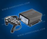 Amplificador de la alarma de la sirena del PA Mic de la policía Cjb802