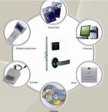 13.56 Fechamento de interruptor da energia do hotel do cerco do exemplo RFID do leitor do leitor RFID