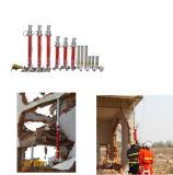 Ferramentas de resgate hidráulico Conjunto de ferramentas de resgate hidráulico pesado (interface única, tubo duplo)