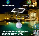 Solar-LED Wand-Licht des Monokristall-Panel-mit patentiertem Entwurf
