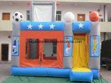 Casa de salto inflável feito-à-medida da forma animal