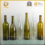Seule hauteur Shaped 301mm (520) de bouteille en verre de vin de claret de cône