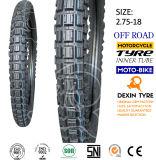 Motorrad zerteilt Motorrad-Motorrad-Reifen-Motorrad-Gummireifen weg von Straßen-Zähnen 2.75-18