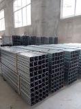 Гальванизированный столб знака безопасности движения проезжей части Perforated металла стальной квадратный