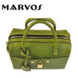 Nuova borsa M1605-12 del cuoio genuino del progettista 2016