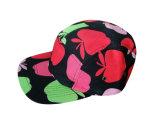 花のジャカード5panels急な回復の帽子