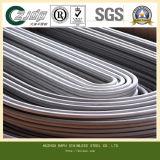 Tubo inconsútil 316 del acero inoxidable U del diámetro grande, 304L,