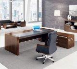 Mesa moderna certificada Fsc da parte alta do MDF, mesa executiva, tabela do escritório