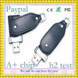 Movimentação segura do flash do USB do couro da alta qualidade do pagamento (GC-L008)