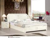 Mobília Ivory do quarto de Kd da cor, aparelhador de Kd, Wardrobe, base (B2)