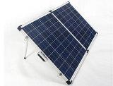jogo portátil do painel 80W solar com a braçadeira da bateria para o carro