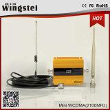 Amplificateur mobile chaud de signal de Miniwcdma 2100MHz 3G de vente avec l'affichage à cristaux liquides