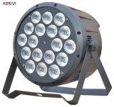 Der Leistungs-18X10W RGBW 4in1 Licht Stadiums-Hochzeits-der Wäsche-LED PAR64