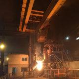Uso dell'acciaieria che lancia la gru a ponte della doppia trave con la gru elettrica