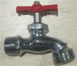 Bibcock sudamericano del pezzo fuso con la maniglia di alluminio (AV2015)