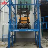 Elevación vertical hidráulica de la plataforma del vector de elevación de mercancías