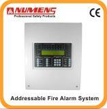 Профессиональный провайдер разрешения пожара, Addressable пульт управления пожарной сигнализации, 2-Loop (6001-02)