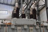 Transformateur d'alimentation immergé dans l'huile de distribution de 110 kilovolts