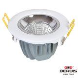 metal 7W e lâmpada plástica do teto do diodo emissor de luz para o uso interno