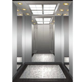 Elevador de Commerical del elevador del pasajero con acero inoxidable del espejo