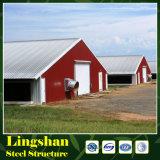 Vorfabrizierter Bratrost-Geflügelfarm-Haus-Entwurf