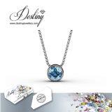 Het Kristal van de Juwelen van het lot van Swarovski 7 Dagen Geplaatst Tegenhanger & Halsband