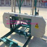 De houten Draagbare Machine van de Lintzaag van de Machine van de Zaagmolen Horizontale