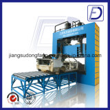 Máquina de estaca quadrada de cobre de aço do ferro hidráulico do metal