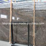 ブラウンの中国の国内自然な大理石