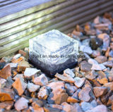 태양 에너지 얼음 LED 벽돌 지하 빛