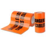 지하 전기선 PE 경고 테이프