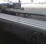 SGCC, Dx51d, JIS, ASTM/Steel materielles gewölbtes Stahlblech-Stahldach-Fliesen PET PVDF beschichtete