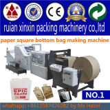 Полный мешок управлениями напряжения бумажный делая хозяйственную сумку бумаги машины делая машину