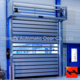 Stahlaluminium isolierte Walzen-Blendenverschluss-Sicherheits-Tür, die Haupttür konzipiert (HF-2081)