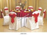 Tampa da cadeira do hotel da venda/pano de tabela quentes (CHC1210)
