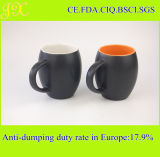 Gute verkaufenmatt-schwarze keramische Kaffeetasse für Wholesase