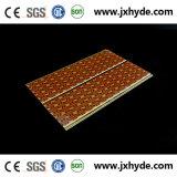 Светлая деревянная панель потолка 5*200mm PVC цвета