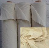 編まれた純粋な綿の灰色ファブリックの織物