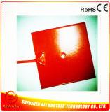 24V 200*200*1.5mm Heizungs-Silikon-Heizung des Drucker-3D mit Thermistor 100k